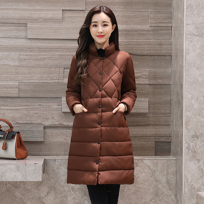 New Fashion 2017 Autumn Jacket Women Fashion Womens Winter Coat Slim Long Sleeve Casual Plus Size Cotton Coats and Jackets muxu new autumn winter coat women basic jacket coat female slim hooded cotton coats casual silver long sleeve ladies jackets
