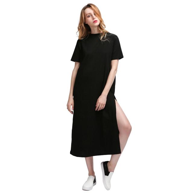 Kendall Jenner Short Dress: Aliexpress.com : Buy Long Dress T Shirt Women Tumblr