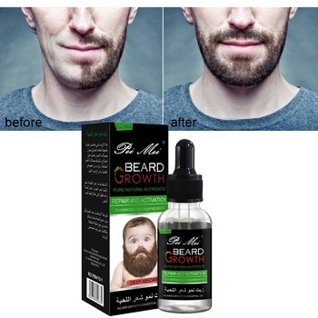 Pure Natural Beard Growth Essential Oil Gentle Nourishing Beard Care Moustache Beard Oil New Pro 1
