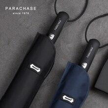 Подлинный бренд большой складной зонт дождь 1,2 метров деловые мужские автоматические ветрозащитные Зонты Мужской Зонт темно-синий и черный