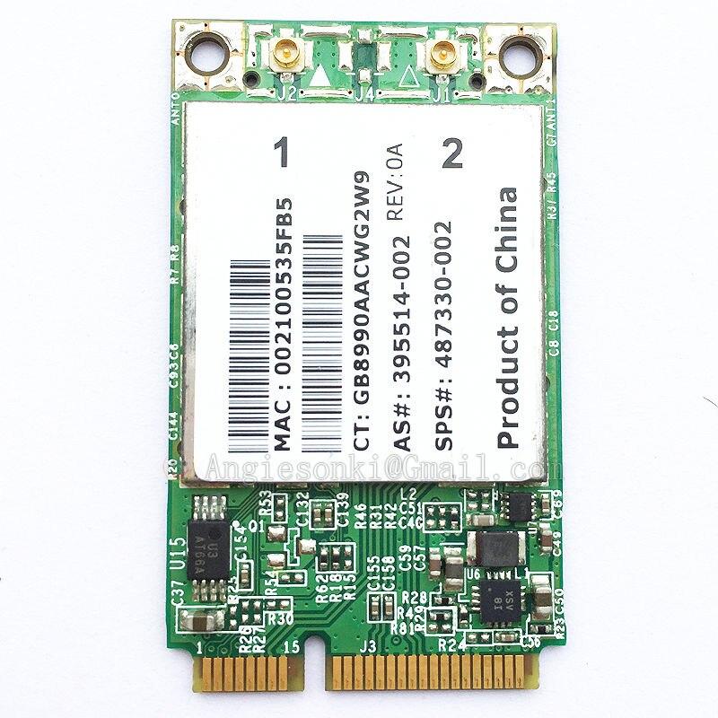 HP Compaq 6530b Notebook Broadcom WLAN Update