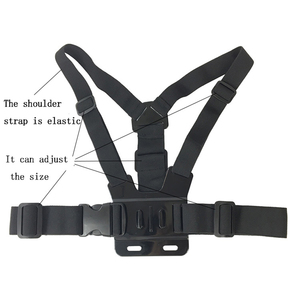Image 3 - Universal Cell Phone Chest Mount Harness Strap Holder Mobile Phone Clip for Smartphone POV Video Outdoor GoPro SJCAM YI shooting