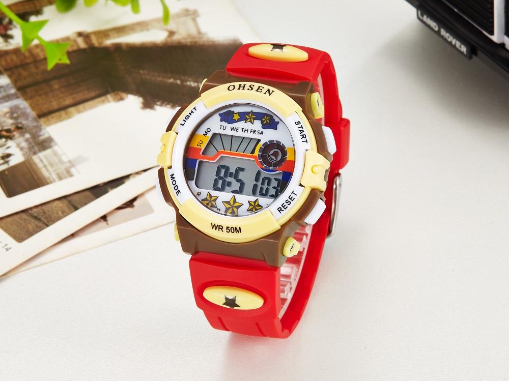 Hot OHSEN Children Watch Boys Life Waterproof Digital LED Sports Watch Kids Alarm Date Casual Watch Gift Hombre Reloj Deportivo (21)
