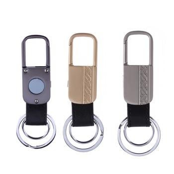 Bidireccional inteligente GPS rastreador llavero Bluetooth posicionamiento localizador Anti Lost llaveros alarma Phototaking buscador dominante anillo