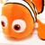 """1 unids 15.8 """" 40 cm pequeño juguete de peluche Nemo clownfish Nemo de peluche de juguete peces de oro estupenda vendedora caliente regalos para niños envío gratis"""