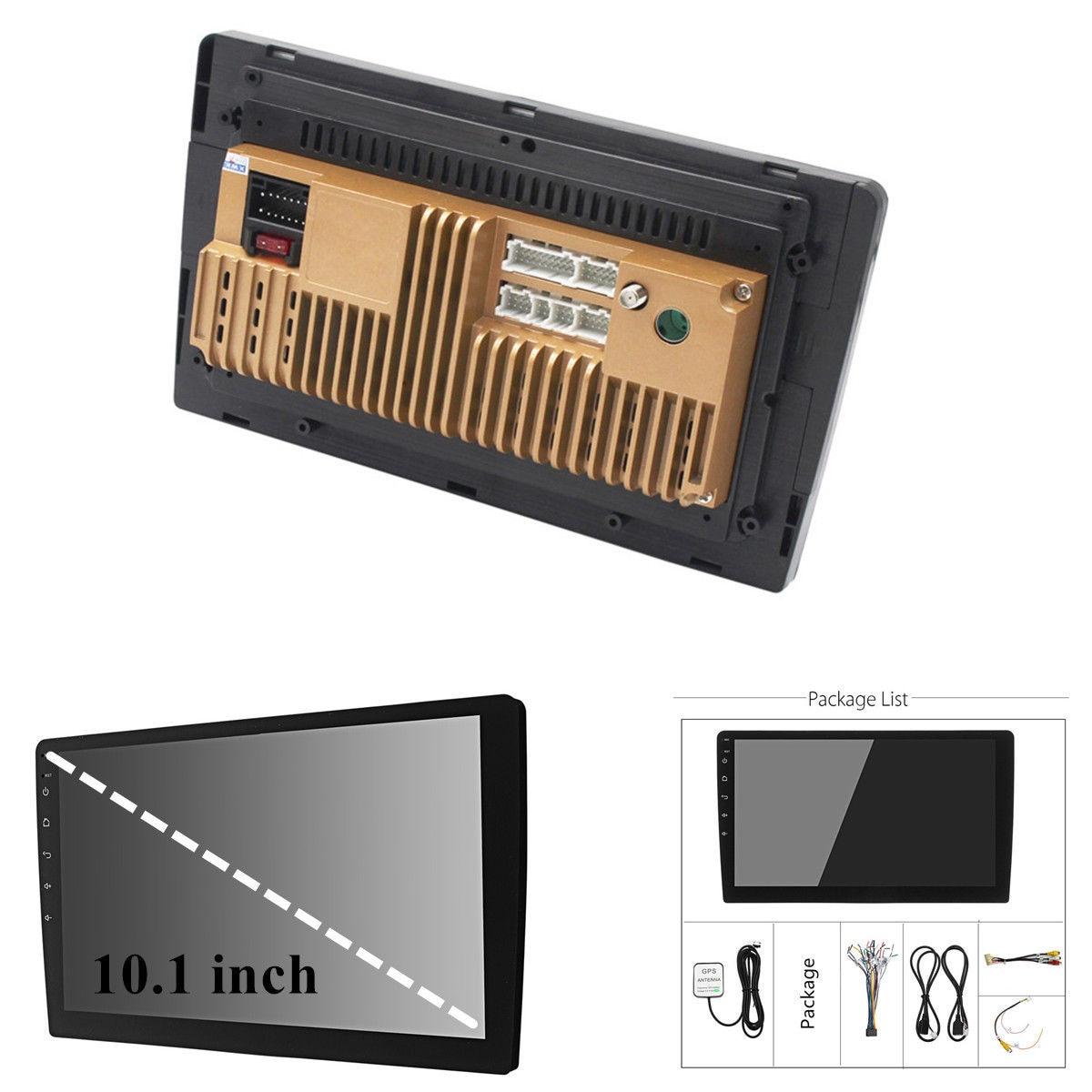 10.1 ''אנדרואיד 8.1 רכב סטריאו 2DIN Bluetooth WIFI GPS Nav Quad Core רדיו וידאו MP5 נגן מולטימדיה לרכב נגן
