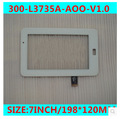 New 7 inch  VI60 dual-core version M705H6 tablet capacitive touch screen 300-L3735A-AOO-V1.0 free shipping