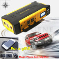 2017 Multi-Function 12V Petrol Diesel Car Jump Starter 4USB Power Bank Mini Compass SOS Lights 600A Peak Car Charger Free Ship