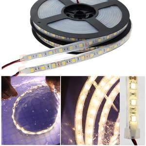 Image 5 - IP67 IP68 Impermeabile Ha Condotto La Striscia 5050 DC12V Subacquea di Alta Qualità E di Sicurezza Esterna di Rgb Ha Condotto La Luce di Striscia 300 Leds 60 led/M 5 M/lotto