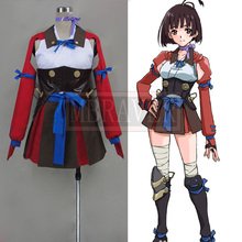 Kabaneri of the Iron Fortress Cosplay Mumei Battle Dresses Girls Cosplay Party Costume Costom Made Any Size