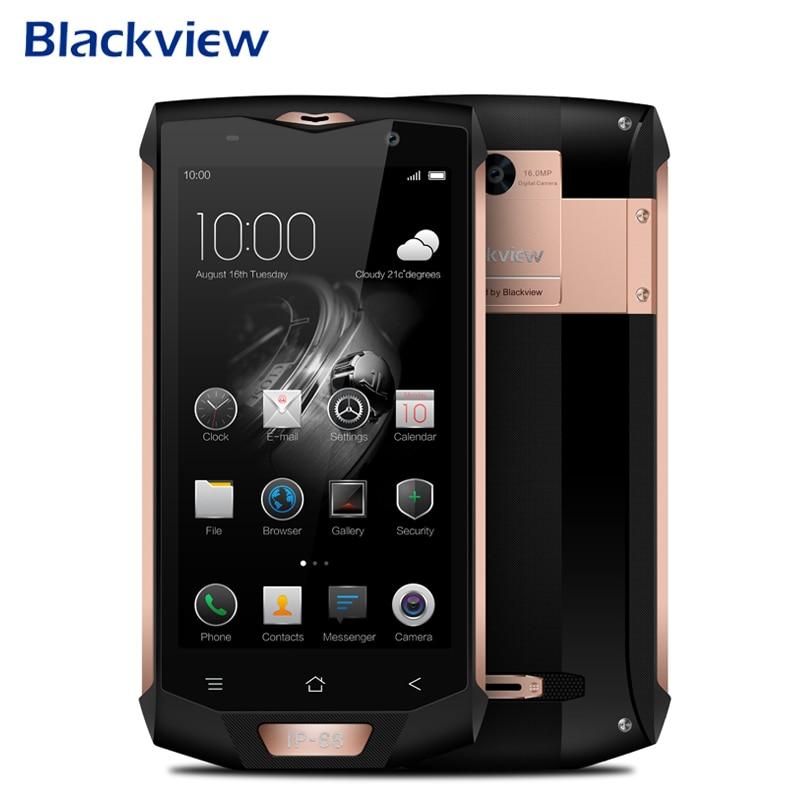 Blackview BV8000 Pro Smartphone Android 7.0 IP68 étanche 6 GB + 64 GB Octa Core 5.0 pouces 1920*1080 16MP 4G LTE téléphones portables