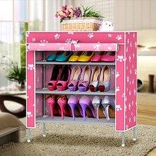 Non-ткань стойки, полки гостиная стойки шкаф слой классический сетки ткань обуви