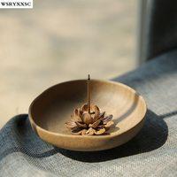 Zen Handmade Incienso de Loto, Budista Suministros de Yoga, Decoraciones para el hogar, Adornos Creativos