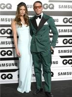 New Fashion Men's Party Suits Green Double Breasted Slim Fit Peak Lapel Tuxedos Bespoke Formal Prom Suits Ternos Masculino