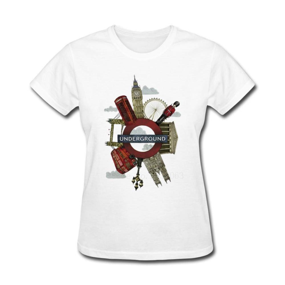 Shirt design london - Hot Cheap O Neck Clothing Women S Around London T Shirt Womens Fun Tee Shirts Wholesale