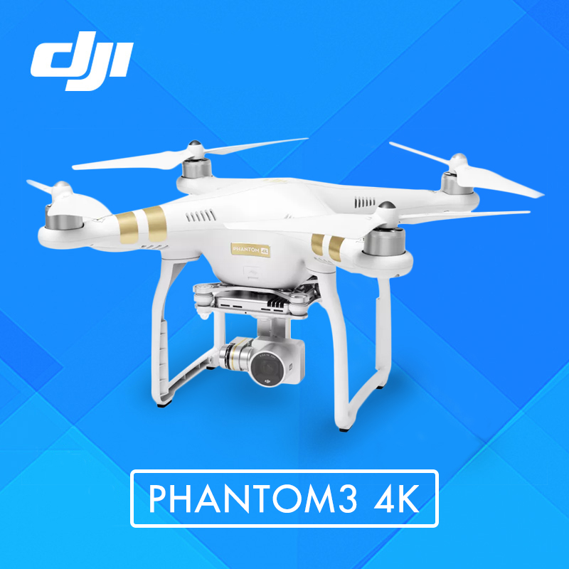 Newest Original DJI Phantom 3 4K FPV RC Quadcopter with 4K Camera rc helicopter Wi-Fi connectivity with PGY Monitor Holder