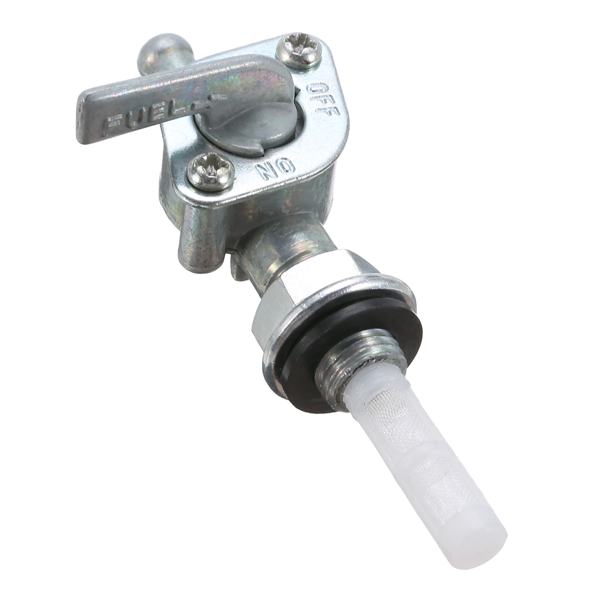 Treyues 1pc Metal Fuel Tank Switch Valve Petcock For 2 Stroke Motorized Bicycle Bike 49cc-80cc Small Engines