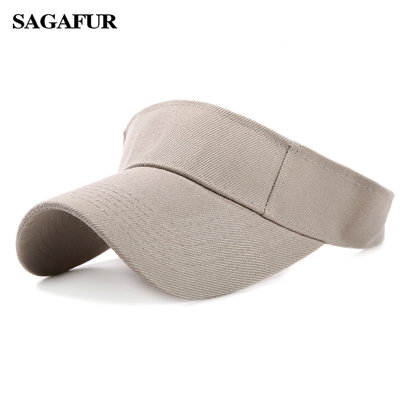 Adjustable Cap Men Women Summer Sport Hat Headband Classic Sun Sports Visor Hat Cap High Quality Hot Sale New Arrival Fashion