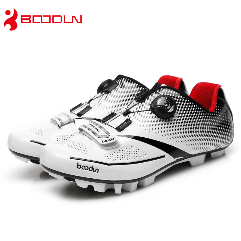 BOODUN cycling shoes man racing team mtb shoes mountain bike sneakers professional self locking athletic breathable