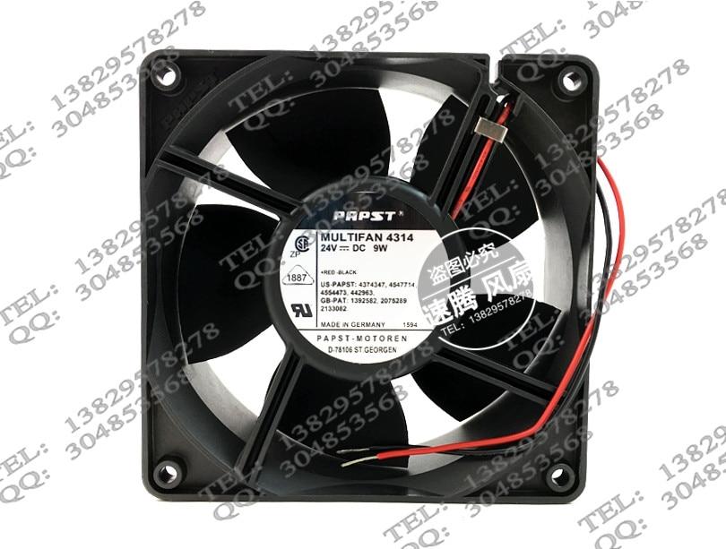 12038 24V Welding MULTIFAN 4314 9w 12CM cooling fan original delta pfb1248ghe 12038 48v 0 82a 12cm humidifier full waterproof axial case cooling fan 120mm