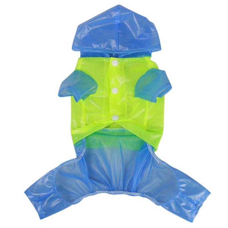 Impermeable Dog Raincoat Rain Slicker Waterproof Waterproof Jacket Hooded Pet Coat Clothing Pet Dog Rainwear