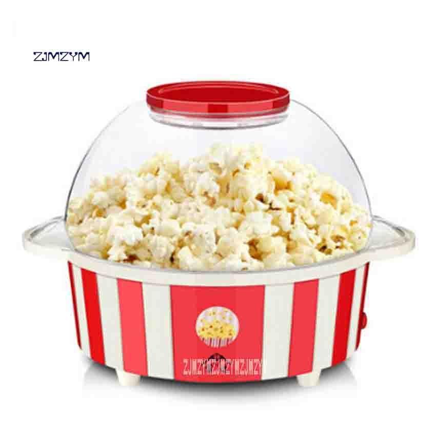 New Arrival MP-100 Electric Mini Household Popcorn Maker Big Capacity Automatic Popcorn Machine 5.0L 220V 850W 1 pot / 3 minutes цена и фото