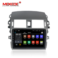 Android7 1 Quad Core 9inch HD Screen Car Media Player For Toyota Corolla 2009 2013 Support