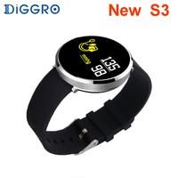 Diggro S3 Smart Watch Waterproof Heart Rate Monitor Blood Pressure Oxygen Fashion Women Fitness Smartwatch Creative Relogio