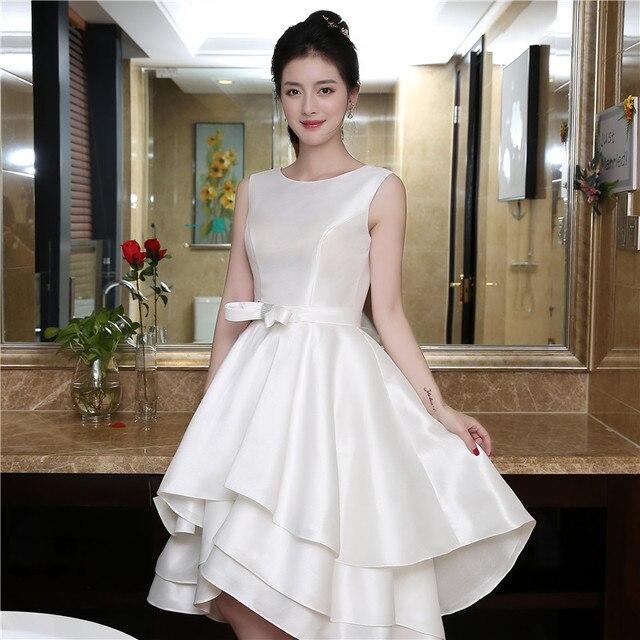 Фото в наличии бисер sash короткие пром платья для вечеринок асимметричный