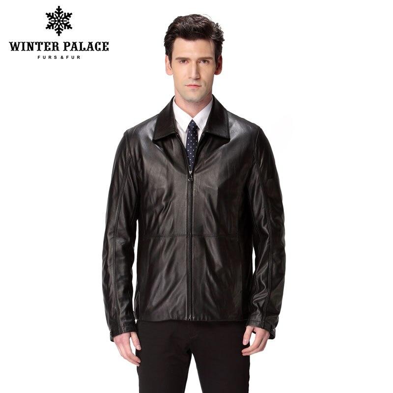 Hot ฤดูใบไม้ผลิแจ็คเก็ตหนังผู้ชาย,หนังแท้,แมนดาริน,หนังแกะ,ชายเสื้อ, เสื้อผู้ชาย,monclair ชายเสื้อแบรนด์เสื้อผ้า-ใน เสื้อโค้ทหนังแท้ จาก เสื้อผ้าผู้ชาย บน   1