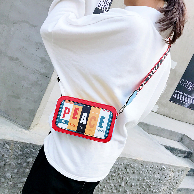2019 New Arrival Broadband Pretty Lovely Ms. Mobile Phone Bag Fashion Shoulder Bag