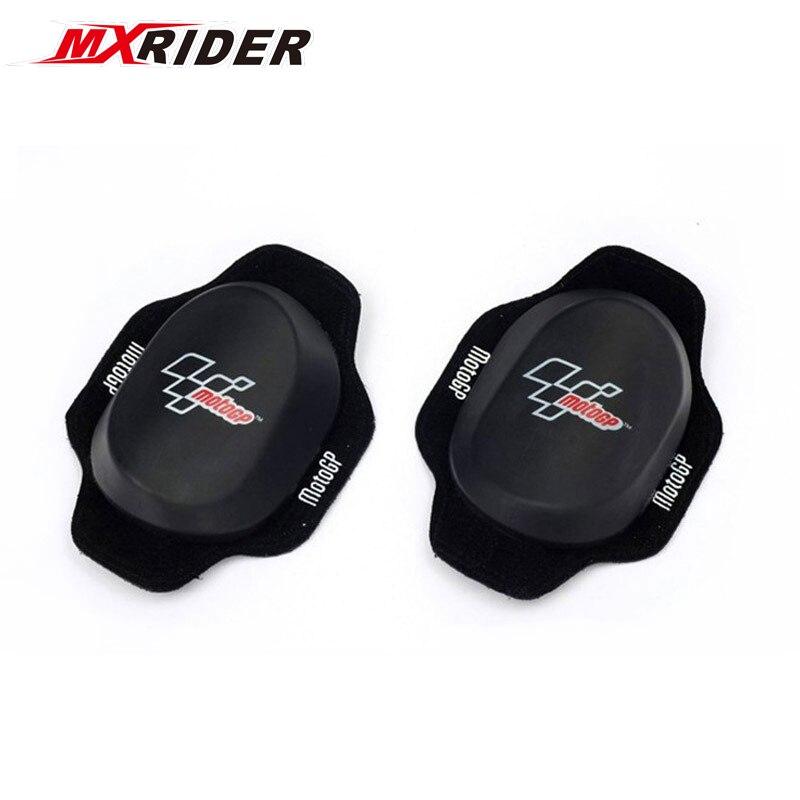 4/pair Newest High Quality Racing Knee Slider Motorcycle Knee Pads Barcelona Protectors For Motocross Kneepads KS001