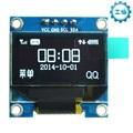 0.96 inch Белый Модуль OLED Дисплей SSD1306 128X64 Водитель Чип I2C IIC Серийный Для Arduino