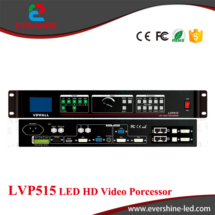 Hot Sale High Quality High Cost-effective Cheap Price VDWALL LVP515 LED HD Video Processor for LED Display Screen hd high quality led gas price display sign outdoor led billboard green color 12 outdoor led display screen