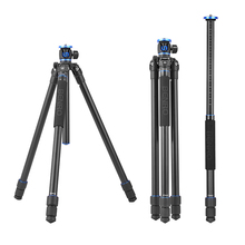 Benro GA268T Aluminum Professional Tripod Stable Camera Bracket Flexible Center Column Magnesium Portable For Canon Nikon