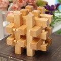 DIY Ручной Горячей Продажи Китайском Стиле Разведки Деревянные 3D Головоломки IQ Логические Magic Cube Детские Игрушки Подарок