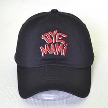 цена oye Mami hat 100% cotton Baseball Cap men women letter snapback Dad hats unisex adjustable hip hop caps онлайн в 2017 году