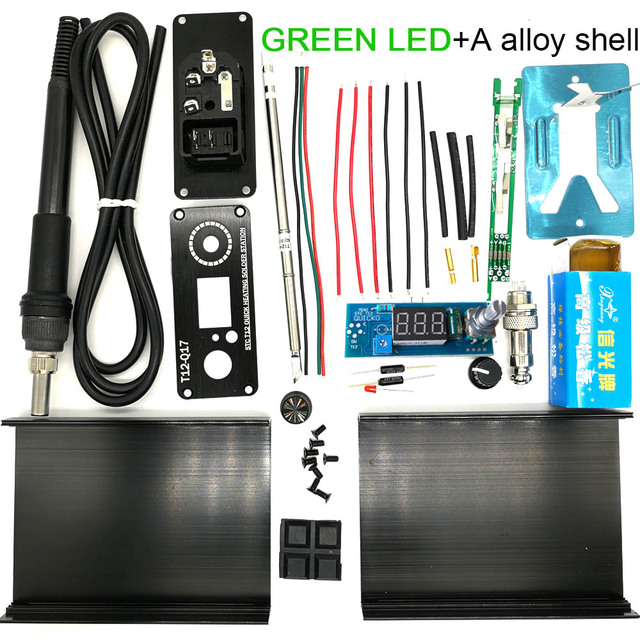GREEN LED alloy shel