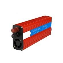 цена на 1500W Universal Car Power Inverter Red Modified Sine Wave Car Inverter Dual USB DC 12V/24V to AC 110V/220V Car Inverters