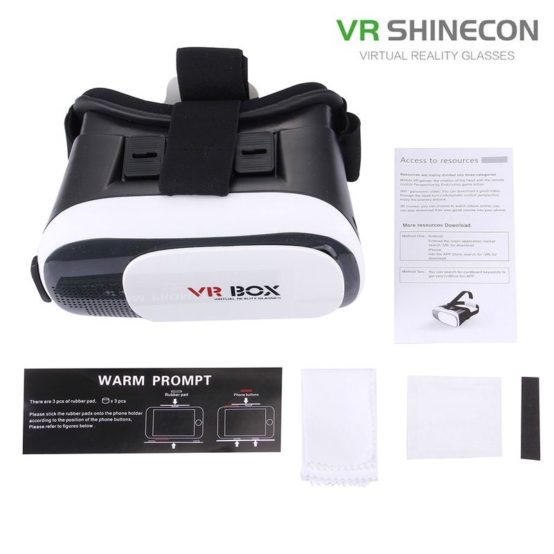 Newest Headset With Touch Button Smartphones Light Portable 3D VR Virtual Reality Glasses