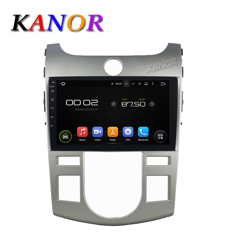9 inch Autoradio Android 5.11 GPS Navigation Fit Kia CERATO/FORTE AC 2008 2009 2010 2011 2012 Car Radio with Multimedia System