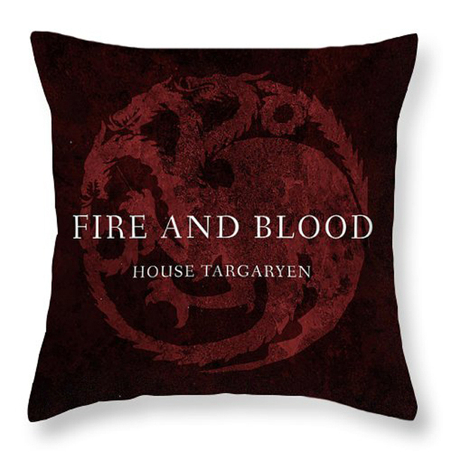 Game of Thrones Logo Polyester Pillow Case
