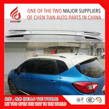 High quality Aluminium alloy or ABS sticker install side rail bar roof rack for Captur 2015