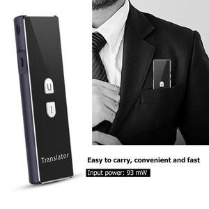 Image 1 - T6 Akıllı Gerçek zamanlı Çoklu Dil Bluetooth Çevirmen Çeviri Cihazı 2.4G Kablosuz Bağlantı Iki yönlü gerçek zamanlı interkom