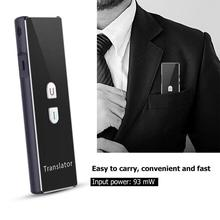 T6 Samrt Echt zeit Multi Sprache Bluetooth Übersetzer Übersetzung Gerät 2,4G Drahtlose Verbindung Zwei weg echt  zeit intercom