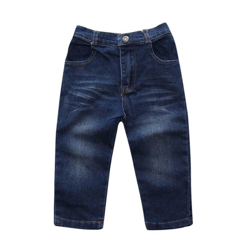 גבוהה Qulity 4Pcs בני בגדי סטי קיץ ילדי בגדי תינוק ילד ספורט חליפת חולצה + ג 'ינס תלבושות לילדים 2 3 4 5 6 7 שנים