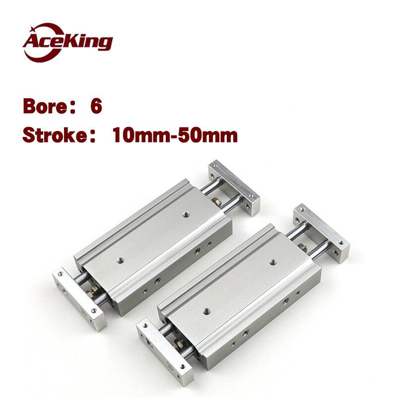 dual-bar cylinder CXSW6-10/20/30/40/50 slider CXSWL ball CXSW6-20 CXSW6-30 CXSW6-40 CXSW6-50 CXSW6-10
