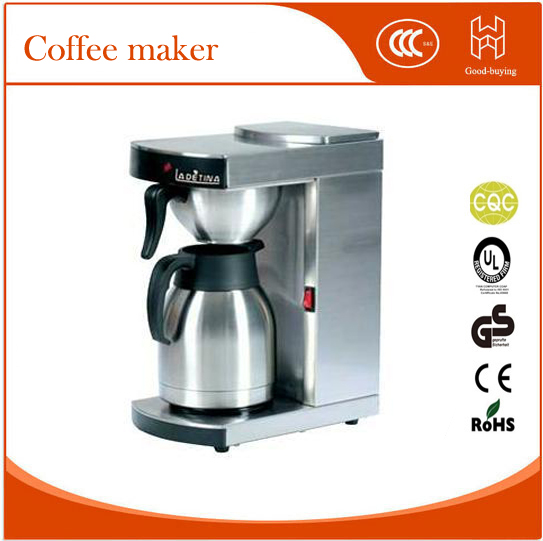 Espresso makers stainless steel cafe cappuccino machine coffee machine-in Coffee Makers from ...