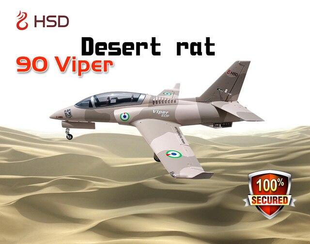 US $235 0 |HSD RC Jet Desert Rat EPO Viper 90MM EDF Airplane KIT Model W/O  Landing Gear ESC on Aliexpress com | Alibaba Group
