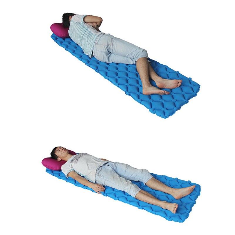 Colchón de aire cama inflable tienda de campaña portátil ultraligero ...